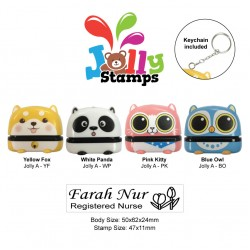 Jolly Stamp Furly Series A with keychain 47x11mm