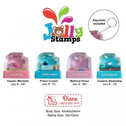 Jolly Stamp Water Park Series B with keychain 30x10mm