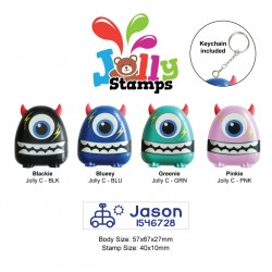 Jolly Stamp Monsterific Series C with keychain 40x10mm