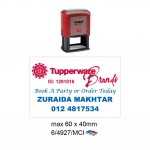Multi Color Self Inking Stamp 4927, 60x40MM