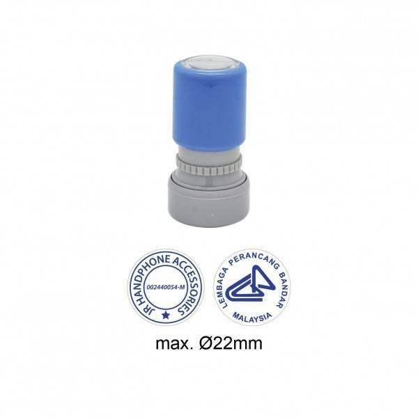 Pre-Inked Stamp MYR22, 22mm