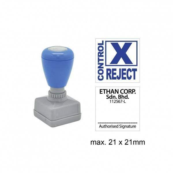 Pre-Inked Stamp MYSQ2121, 21x21mm