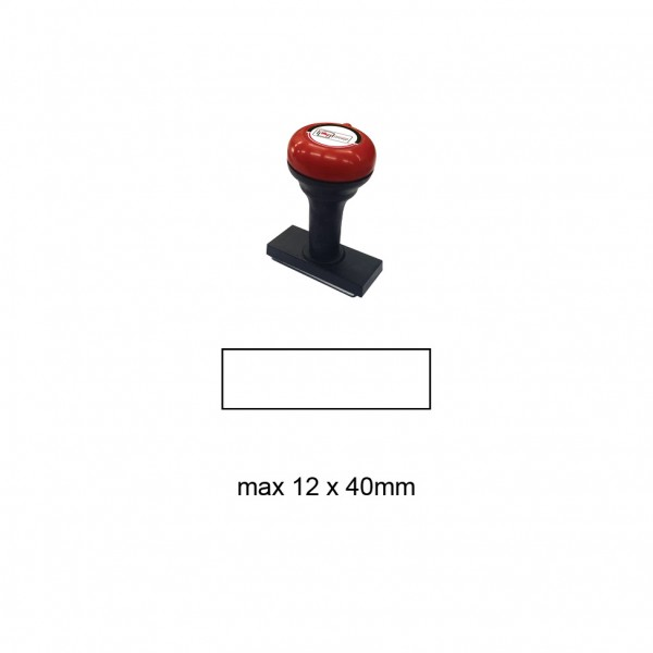 Hand Stamp MS1240R , 12x40mm