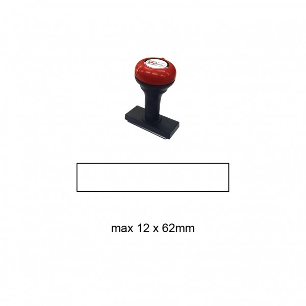 Hand Stamp MS1262R , 12x62mm
