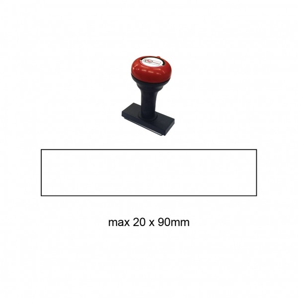 Hand Stamp MS2090R , 20x90mm