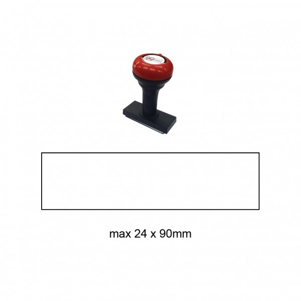 Hand Stamp MS2490R , 24x90mm