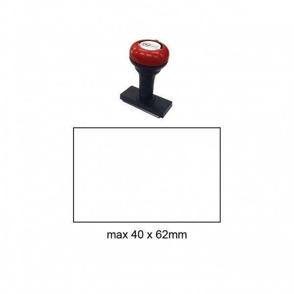 Hand Stamp MS4062R , 40x62mm