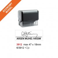 Trodat 3912 Self Inking Stamp 47x18mm