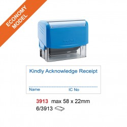 Trodat 3913 Self Inking Stamp 58x22mm