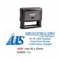 Trodat 4925 Self Inking Stamp 82x25mm