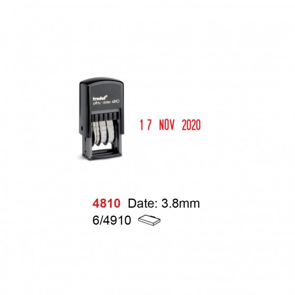 Self Inking Date Stamp 4810