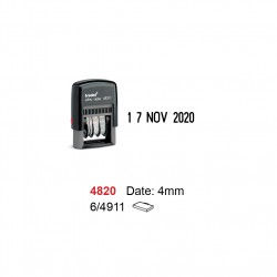 Self Inking Date Stamp 4820