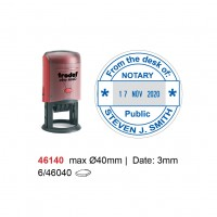 Self Inking Date Stamp 46140 40mm