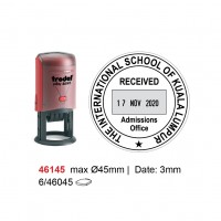Self Inking Date Stamp 46145 45mm