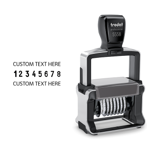 Heavy Duty Professional Text Stamp