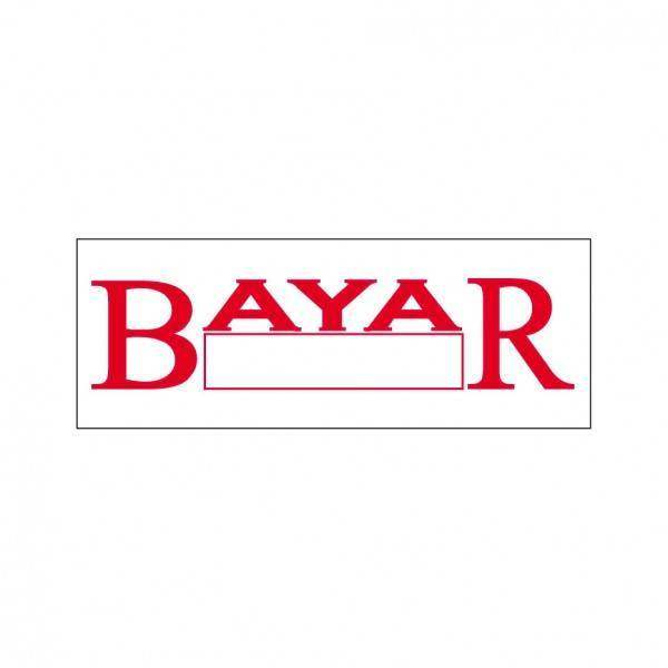 Bayar Stock Stamp BS-1, 38x14mm
